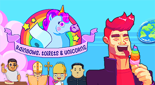 Rainbows, toilets & unicorns